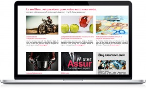 Site web de mister assur by @men communication