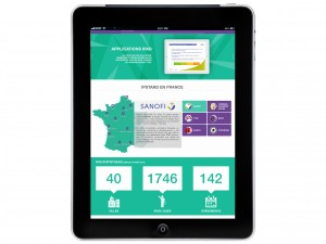 IPSTAND : Application pour iPad